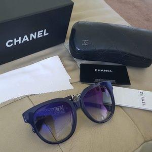 6273eb941f Chanel Metal Filigree Butterfly 5261 Sunglasses